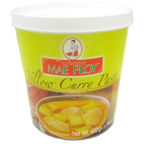 buy thai yellow curry paste 400g shop online authentic thai