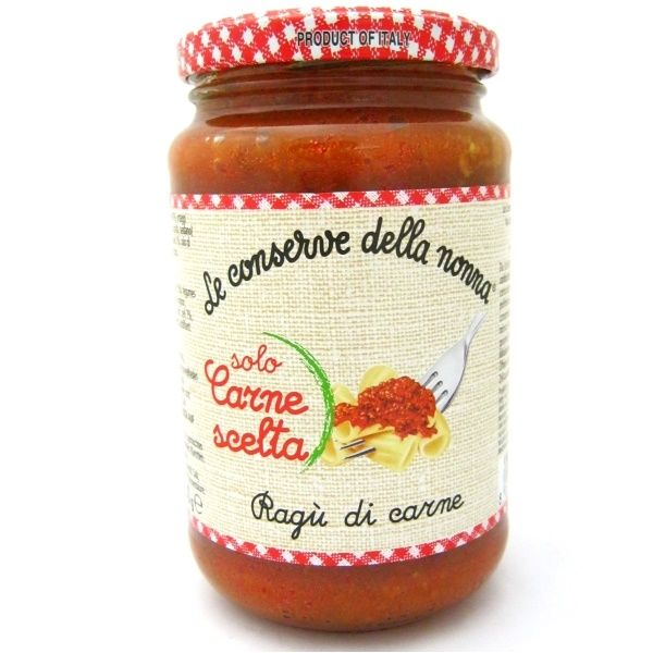 Buy Le Conserve della Nonna Bolognese Ragu (Ragu di Carne) online and in London, UK
