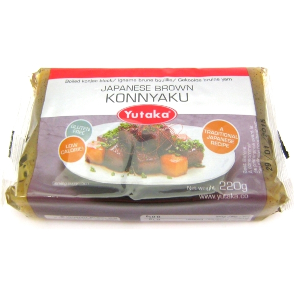how to cook konnyaku yam cake