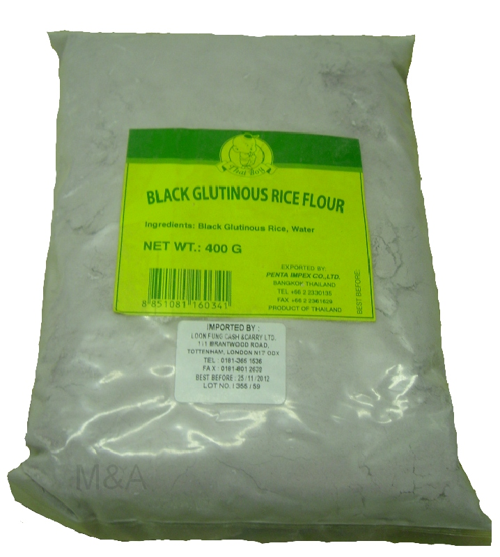Buy Black Glutinous Rice Flour Online And In London Uk