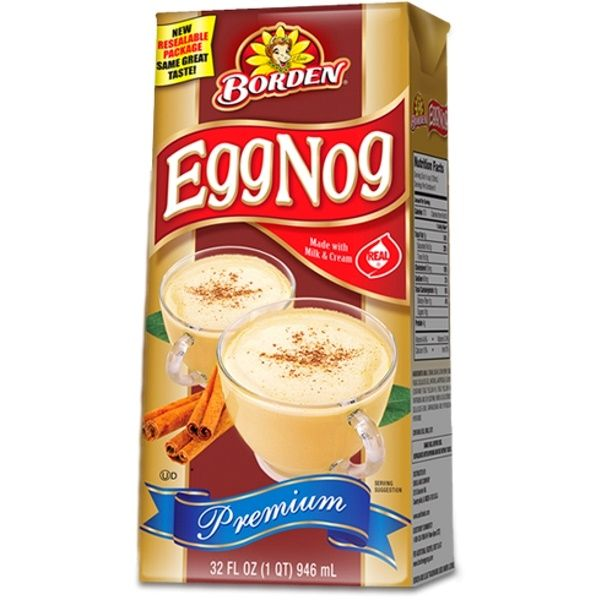 Egg Nog Using Heavy Cream: Borden EggNog 946ml