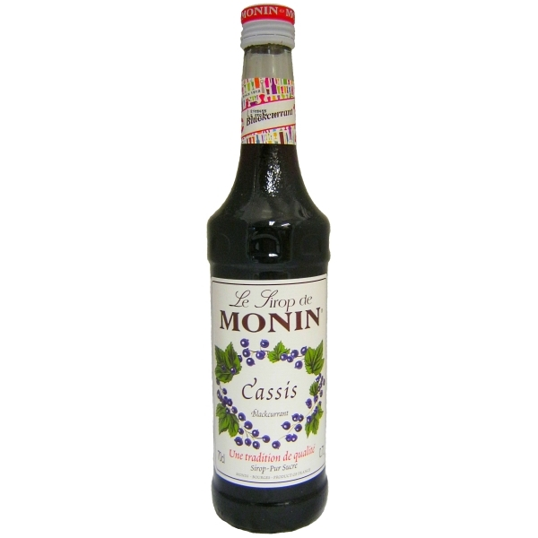 Cassis Syrup Blackcurrant Syrup Monin 700ml Buy