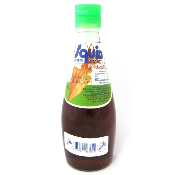 Fish sauce 300ml nam pla squid brand buy online for Cooking with fish sauce